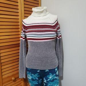 Turtleneck pullover size L